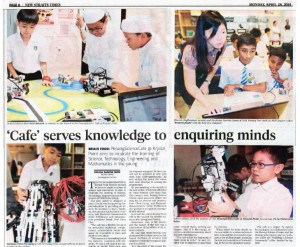 NST Café serves knowledge to enquiring minds
