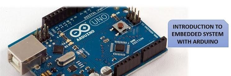 Introduction to embedded system with arduino penang
