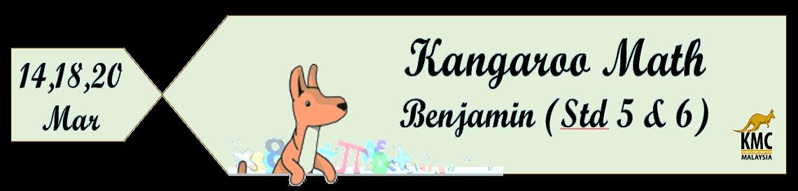 Kangaroo Math Workshops : Benjamin (Std 5 & 6) – Penang