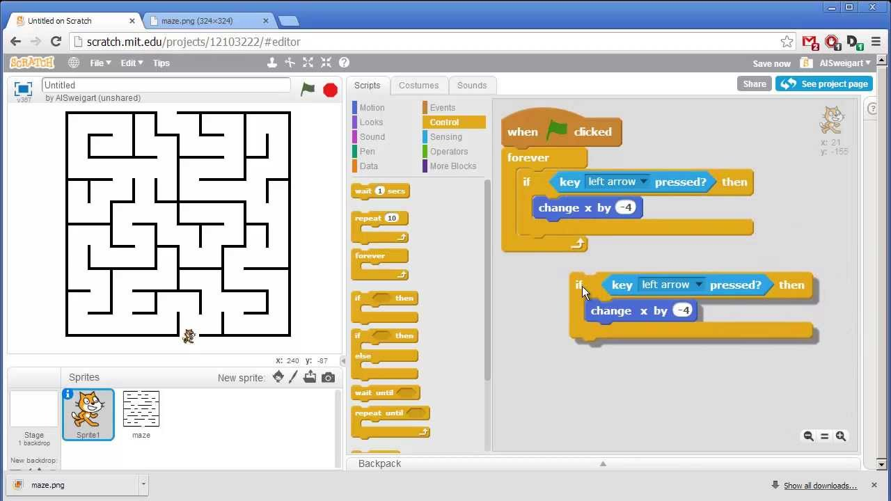 how to create a maze game Here is a list of maze maker software for windows to create maze game by specifying grid number, complexity, colors, height, width, enter, exit way, etc.